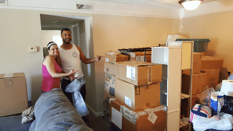 Clients of Quikhaul and moving boxes